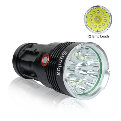 Semlos XM-L T6 Camping Flashlight