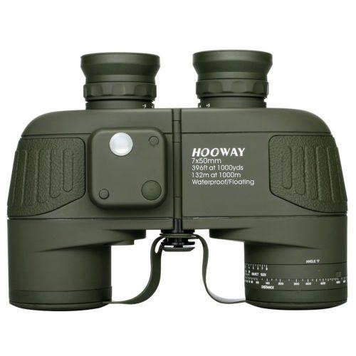 Hooway 7x50 Waterproof Marine Rangefinder Binoculars