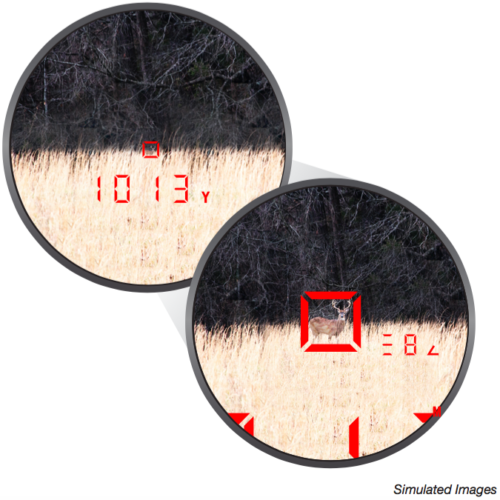Laser finder view
