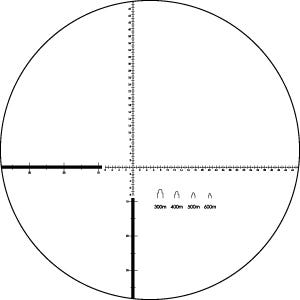 Vortex recon r/t 15x50mm monocular reticle